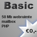 Spinternet Basic hosting